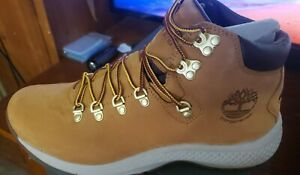 New Timberland Men's  Flyroam Trail Waterproof Leather Mid Hiking Boots 10.5