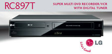 New listing Refurbished Lg Rc897T Dvd Recorder Vcr Combo 1Year Warranty