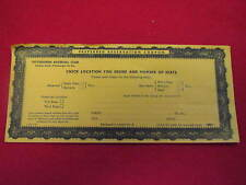 Pittsburgh Pirates Forbes Field Preferred Reservation Coupon   Vintage  Clemente
