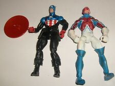 Marvel Legends Captain America ( Bucky) & Britain Loose Figure Lot Set