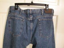 Mens Wrangler 36 x 30 Blue Jeans Classic 5 Pocket 100% Cotton Denim 97TPRWO