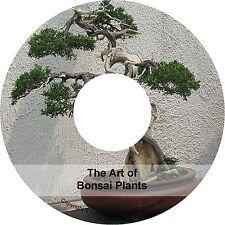 How To Grow Bonsai Growing & The Art of Bonsai Plants Tree Tips Books on CD