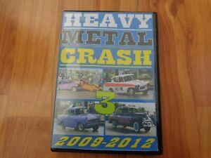 RARE CLASSIC BANGER RACING - HEAVY METAL CRASH 3 - 2009-2012 DVD