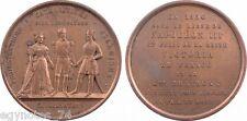 OTTOMAN - FRANCE - ENGLAND , ALLIANCE MEDAL OF CRIMEA WAR 1854 ( VARITY 2), RARE