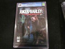 Joker/Harley Criminal Insanity #5 - CGC 9.8  Variant Cover! Highest Graded!