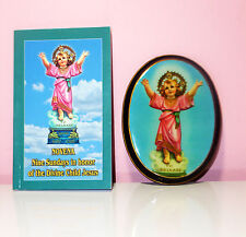The Divine Child Jesus Framed Image & Book About World Wide Devotion & Miracles