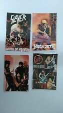 Slayer megadeth metal vintage foto Photo pictures set