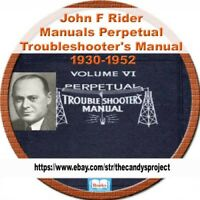 Riders Perpetual Troubleshooter's Manual 1930-1952 +More DVD CD