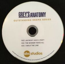 Grey's Anatomy Season 15 DVD Emmys Promo ABC Ellen Pompeo Chris Carmack