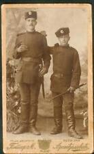 Serbia Kingdom Nis Cartonage Photo Milanovich Bayonet