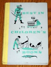 BEST IN CHILDREN'S BOOKS VOLUME 41 HARDCOVER BOOK NELSON DOUBLEDAY 1961 VINTAGE