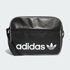 Authentic Adidas Originals Airliner Vintage Black Shoulder Cross body Bag NEW