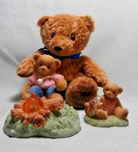 "CHERISHED TEDDIE ""2005 MEMBER KIT  KATE, EVIE PLUSH BEAR & BAG NEW  CT2005"