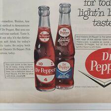 1964 Dr Pepper Soda Pop Ad Harmon by Johnny Hart Artwork