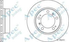 1x OE Quality Replacement Rear Axle Apec Vented Brake Disc 5 Stud 292mm - Pair