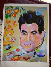 James Paul Brown Giclee Print Autographed by Emeril Lagasse