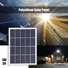 Solar Battery Panel Polycrystalline Silicon 3W 5V DIY Lamp Cell Charge Module