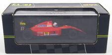 Voitures de courses miniatures rouges moulé sous pression Ferrari