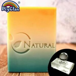 Soap Stamp Acrylic DIY Resin Chapte Natural Handmade Soap Making Pattern Chapter