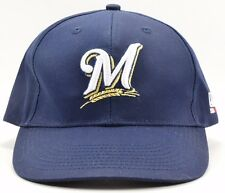 Milwaukee Brewers OC Sports Strapback Baseball Hat Cap Free Shipping