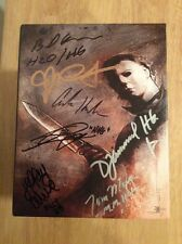 SIGNED x21 John Carpenter Halloween: The Complete Collection Blu-ray Set + Pics