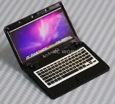 RC 1/10 Scale ACCESSORIES  METAL APPLE LAPTOP MAC BOOK Black
