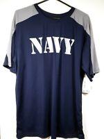 US Navy T-Shirt Short Sleeve Shirt size Large, Blue & Gray, Military AE Sport