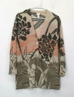 Chico's Women's Size 0 Long Sleeve Single Button Cardigan Top