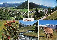 Alte Postkarte - Impressionen von Davos