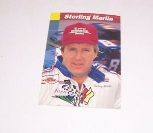 Sterling Marlin, Driver  #8, 1993 Pro Set, Nascar, Winston Cup Trading Card