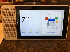 "Google 8"" Smart Display w/ Google Assistant - White Front/Gray Back Lenovo Model"