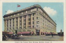 Hudson Bay Company Store WINNIPEG Manitoba Canada 1930-1940s PECO Postcard