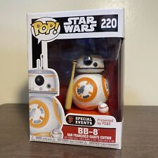 BB-8 STAR WARS SF SAN FRANCISCO GIANTS EXCLUSIVE FUNKO POP! RARE!