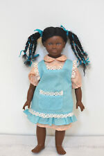 "Vintage Heidi Ott Original Black Girl 12"" Doll VGC Made in Switzerland"