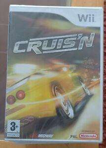 Cruis'N Nintendo Wii & U Game MIDWAY Arcade Car Racing NEW SEALED UK PAL Rare