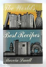 THE WORLD'S BEST RECIPES by Marvin Small (1955) - HARDBACK - 1st Edition