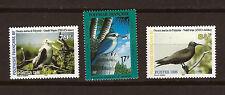 POLYNESIE Frse  3 timbres neufs :les oiseaux marins et sédentaire 1M 54A
