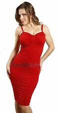 Long Party Elegant Ruched Solid Padded Strapless One Size Fitted Bandage Dress