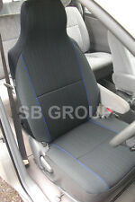 TOYOTA CELICA / STARLET CAR SEAT COVERS YARO BLUE FLECK 2 FRONTS