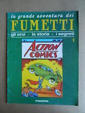 La Grande Avventura dei FUMETTI fascicolo n°1 De Agostini  [G364] BUONO