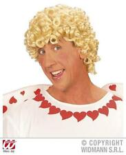Serré Curl perruque afro blonde CUPIDON SAINT VALENTIN ange robe fantaisie