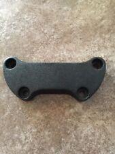 harley black handlebar riser top clamp softail dyna sportster fxdx fatboy fxr 1