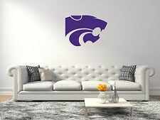 Kansas State Wildcats NCAA Football Sport Wall Decal Vinyl Sticker For Room Home