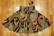 Lauren Ralph Lauren Southwestern Tribal Ladies Layered Skirt Size 6 New SALE!!!