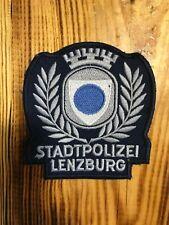SWISS SWITZERLAND VINTAGE PATCH POLICE POLIZEI CANTONE ZURICH LENZBU - ORIGINAL!