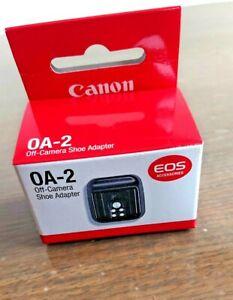 Canon OA-2 off-camera shoe Adapter  with box EOS