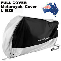 Waterproof Motorcycle Bike Storage Cover Scooter Outdoor Rain Dust Sun Protector