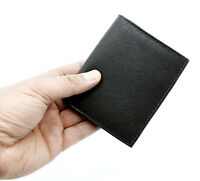 RFID Genuine Leather Wallet For Men Credit Card Holder Case Coin Purse 48 Black