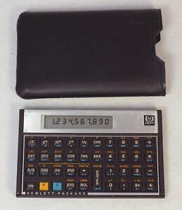 Vintage Hewlett Packard HP 11C RPN Scientific Calculator