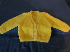 NEW HAND KNITTED CARDIGANS AGE 3-6 MONTHS ( CHOOSE ).